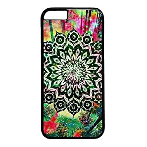 "Aloha Vibes Hard Shell with Black Edges Cover Case for Iphone 6 Plus(5.5"")"