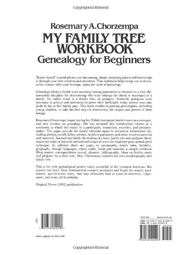 My Family Tree Workbook Dover Children S Activity Books Rosemary