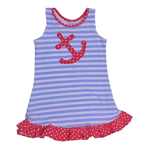 Flap Happy Baby Girls Sophie Swing Dress, Sailor Stripe, 18m Swing Flap