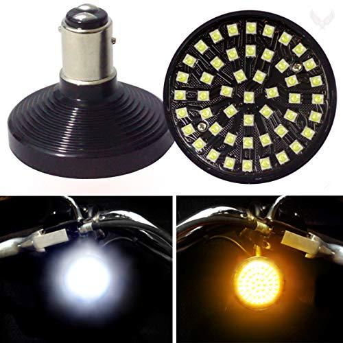 Eagle Lights SUNBURST Front 2 inch LED Turn Signals for Harley Davidson Motorcycles