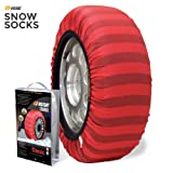 Classic Textile Tire Chain Snow Sock, Set of 2 (72)