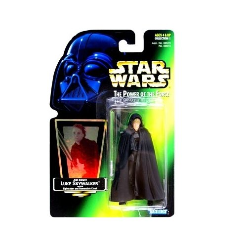 Kenner Luke Skywalker (Star Wars: Power of the Force Green Card Luke Skywalker Jedi Knight Action Figure)