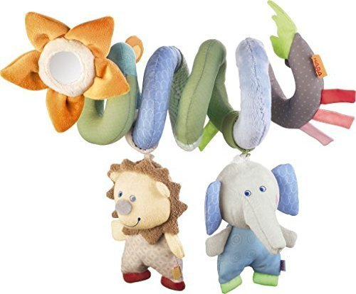 Haba Uppsala Activity Spiral Baby Stroller Toy Activity Spiral Car Seat Ornament Hangings Crib Toy Infant Car Seat Toys Play Mat Accessory Plush Toy For Travel