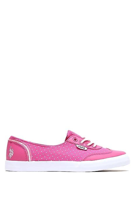 Zapatos rosas US Polo Association para mujer 2BmhLG8ZB