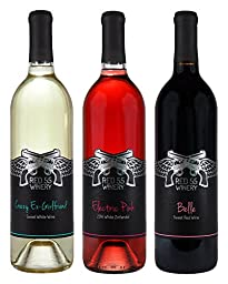 Miranda Lambert Sweet Wines Mixed Pack, 3 x 750 ml