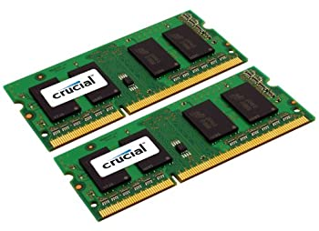Crucial 4gb Kit (2gbx2) Ddr3ddr3l 1333 Mts (Pc3-10600) Sodimm 204-pin Memory For Mac - Ct2k2g3s1339m 3