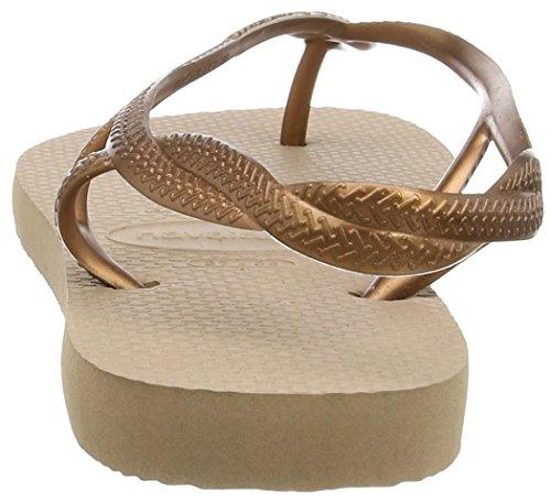 Luna Sandals Rose Havaianas Gold Women xYwRT6nqP