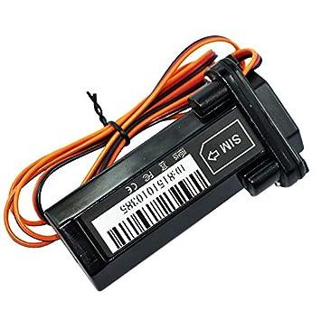 SODIAL Rastreador de GPS Localizador impermeable Alarma antirrobo del coche motocicleta bicicleta electrica Bateria integrada