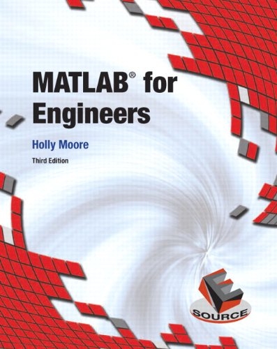 MATLAB for Engineers, 3rd Edition