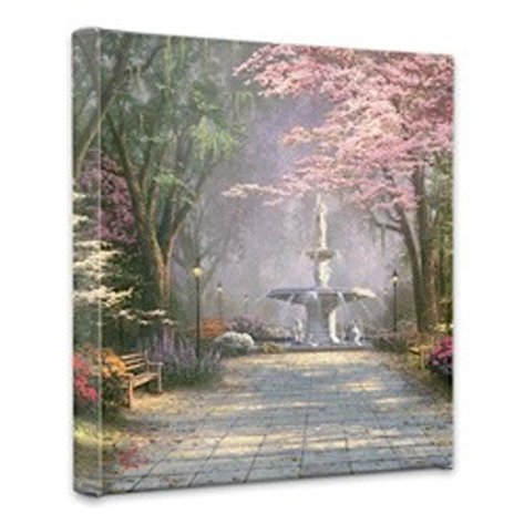 Thomas Kinkade - Savannah Romance wall decor