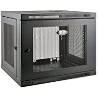 Tripp Lite 9U Wall Mount Rack Enclosure Server Cabinet, 20.5 in. Deep, Switch-Depth (SRW9UDP)