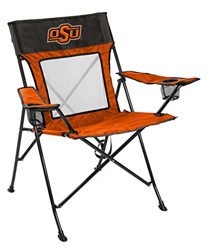 Rawlings NCAA Oklahoma State Cowboys Unisex 00643044111NCAA Game Changer Chair (All Team Options), Orange, Adult - Oklahoma State Game