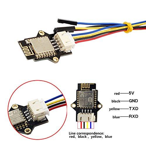 SODIAL Pieza de impresora 3D Modulo WIFI PESP8266, modulo ESP 3D ...