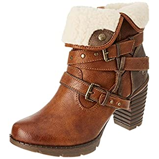 MUSTANG Women's 1292-602 Ankle Boot 10
