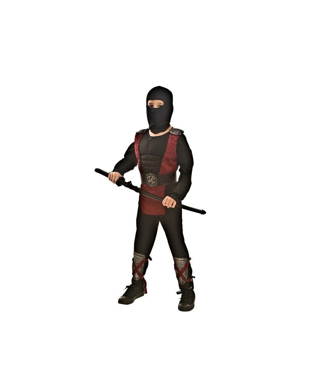 Topwell traje Ninja Niño 11 +, Multicolor, 374147: Amazon.es ...