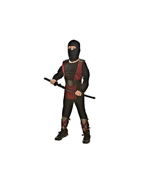immagini dettagliate vasta gamma di prezzi al dettaglio Topwell Costume Ninja Bambino 8+, Nero, 374130
