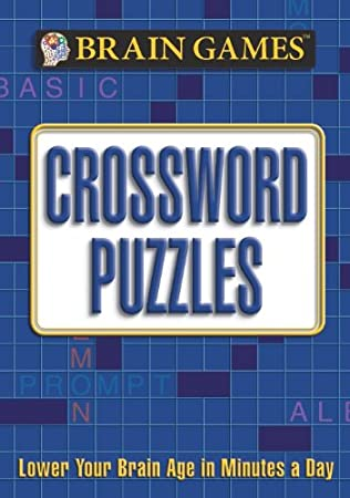 Amazon brain games crossword puzzles 9781605533735 editors brain games crossword puzzles ccuart Choice Image