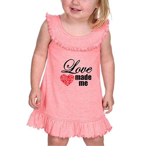 Petitebella My Daddy is My Hero White Shirt Rose Ribbon Pink Petal Skirt Nb-8y