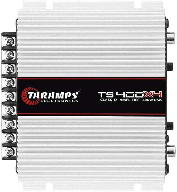 Taramp's TS 400X4 2 Ohms 4 Channel 400 Watts Class D Full Range Amplifier