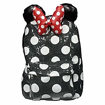Amazon.com | Disney Parks Minnie Mouse Sequin Backpack