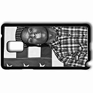Personalized Samsung Note 4 Cell phone Case/Cover Skin Asap Rocky Music Black