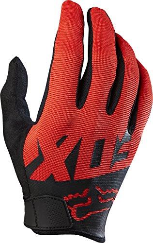 Black And Red Gloves (Fox Racing Ranger Gloves - Men's Black/Red, L)