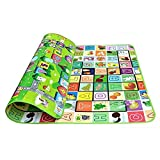 Cido Baby Crawl Play Game Camping Picnic Letter Alphabet Floor Rug Mat 180x200CM