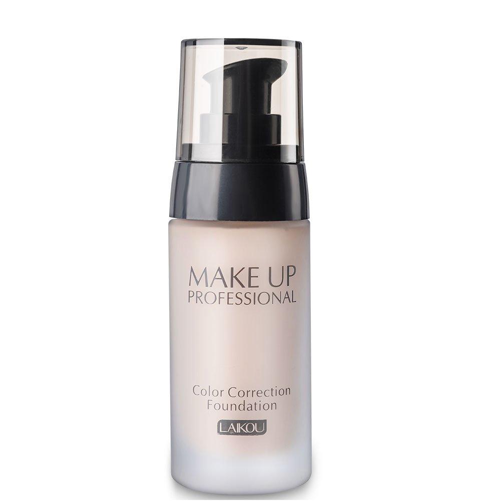 BB Cream, 3 colores de maquillaje Face Color Contour Liquid Corrector Blemish Flaw Cover Cosmético 40g(Blanco natural) Yotown