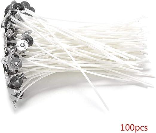 Fornateu 100PCS / Set Blanca DIY Vela Mecha de algodón Que Hace la ...
