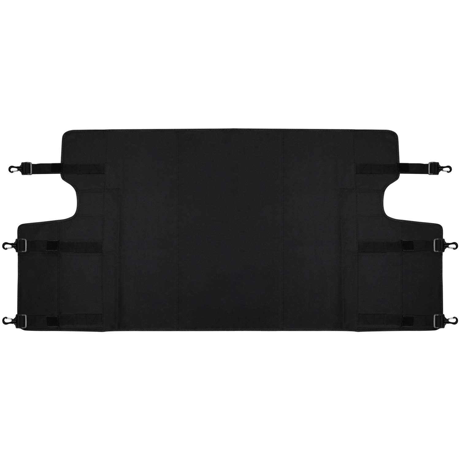 【Upgrade Version】 Opall Retractable Rear Trunk Cargo Luggage Security Shade Cover Shield for Jeep Cherokee 2014 2015 2016 2017 2018 BLACK
