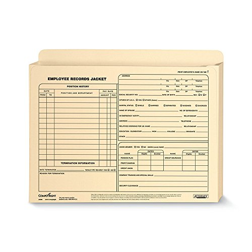 (ComplyRight Employee Record Jacket Expandable Letter)