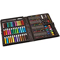 ArtyFacts 120-Pcs. Portable Art Studio Deluxe Kit