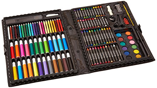 Darice 120-Piece Deluxe Art Set (School Kit)