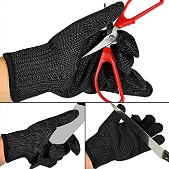 Kmbest Cut Resistant Gloves Stainless Steel Wire Mesh