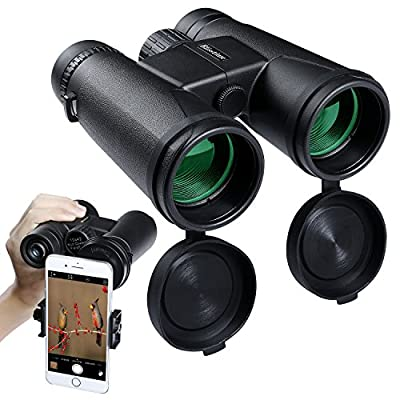 Binocular Telescope High Powered Waterproof Portable Vision with Fully Multi-Coated Lens for Outdoor, Hunting, Bird Watching, Concerts