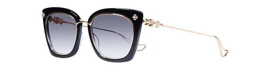 cf815a1171ca Chrome Hearts - Betty Lou II - Sunglasses (Black/Gold Plated, Smoke Gradient
