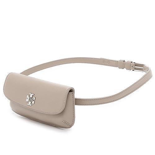 250e681b2cf6 Tory Burch Diana Fanny Pack Belt Bag Leather French Gray  Amazon.ca  Shoes    Handbags