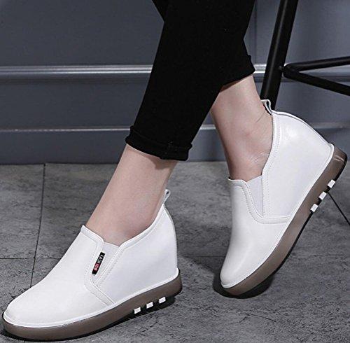 ... Satuki Caché Talon Chaussures De Sport Pour Les Femmes, Wedges Talon  Plate-forme Tirer cea509dc55ae