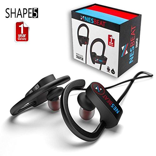 NESBEAT SHAPE5 Best Bluetooth Earphones, Wireless Sports