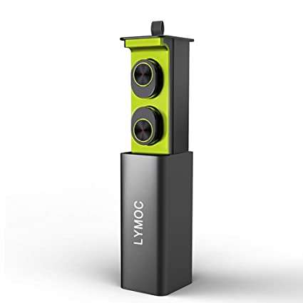 ZMH TWS Mini Auriculares Inalámbricos Bluetooth Auriculares Imán V4.2 Auriculares con Micrófono HD Manos
