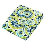 Trend Lab Plush Baby Blanket, Multi Waverly Solar Flair