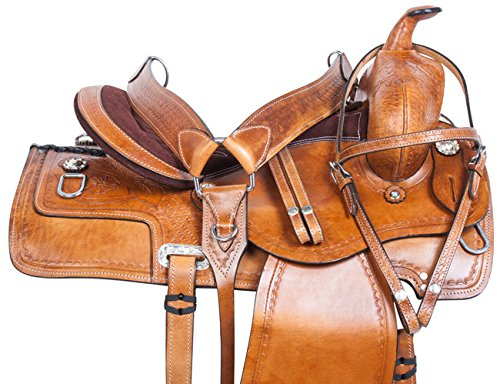 Western Roping Saddle Set - 5