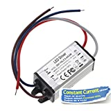 Chanzon LED Driver 600mA (Constant Current Output) 9V-13.6V (Input 85-277V AC-DC) (3-4)x3W 9W 12W IP67 Waterproof Power Supply 600 mA Lighting Transformer Drivers for High Power COB Chips (Aluminium)