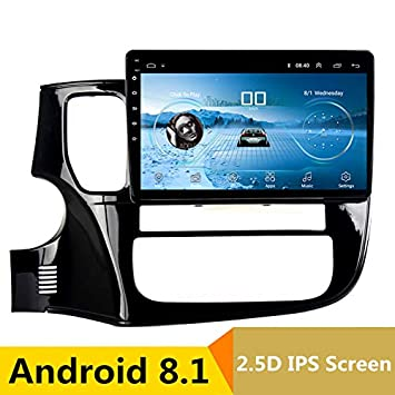 Reproductor Multimedia de 10 Pulgadas 2.5D IPS Android 8.1 para Coche DVD GPS para Mitsubishi Outlander 2014 2015 2016 Radio de navegación: Amazon.es: ...