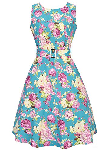 Women Vintage Spring Garden Sleeveless