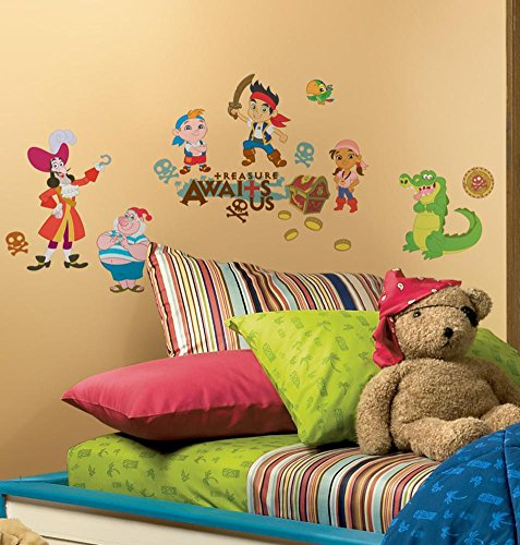 Jake And The Neverland Pirates Bedroom (Jake and the Neverland Pirates Peel & Stick Wall)