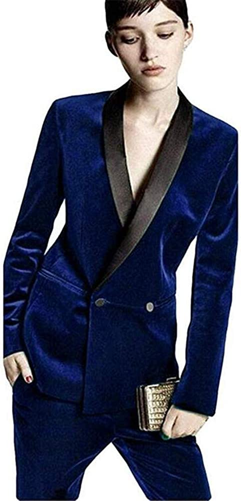 Notch Lapel 3 Piece Women Ladies Business Office Tuxedos Formal Work Wear Suits