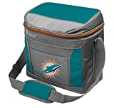 Coleman NFL Soft-Sided Insulated Cooler Bag, 16-Can Capacity, Miami Dolphins