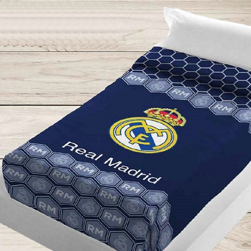 Manterol Manta Vip Real Madrid Estadio Escudo (130 x 160): Amazon.es: Hogar