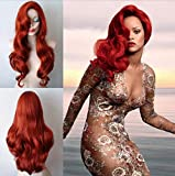 DINIFER Wigs Jessica Rabbit Christmas Present